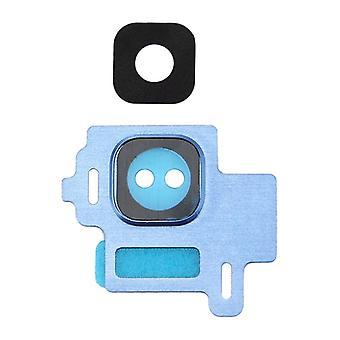 Kameraglas für Samsung Galaxy S8 G950F Kamera Ring Glas Rahmen Cover Blau Neu