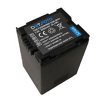 Panasonic CGA-DU21, VW-VBD210 genopladelige batteri fra Dot.Foto EXTRA - 7.2V / 3350mAh - 2 års garanti [Se beskrivelse for kompatibilitet]
