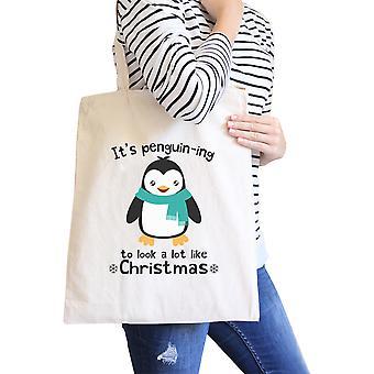 Merry Corgmas Corgi Design Canvas Bag Funny Gift For Corgi Lovers