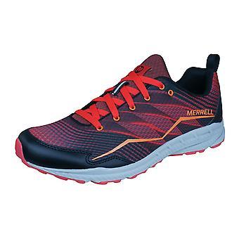 Running formatori Trail Merrell Crusher uomo / scarpe - rosso