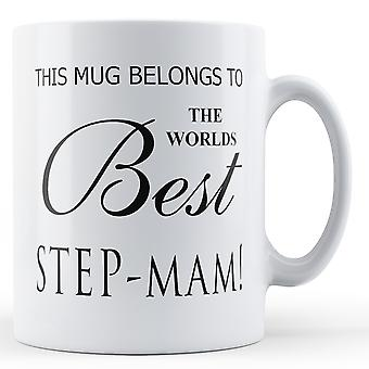 Dette krus hører til verdens bedste skridt-Mam trykte krus