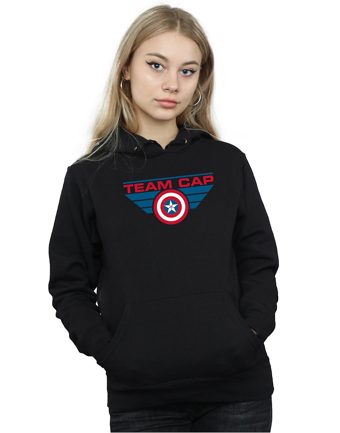 Marvel Women's Captain America Civil War Team Cap Hoodie