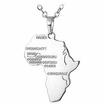 U7 Afrikahalsband - Silver