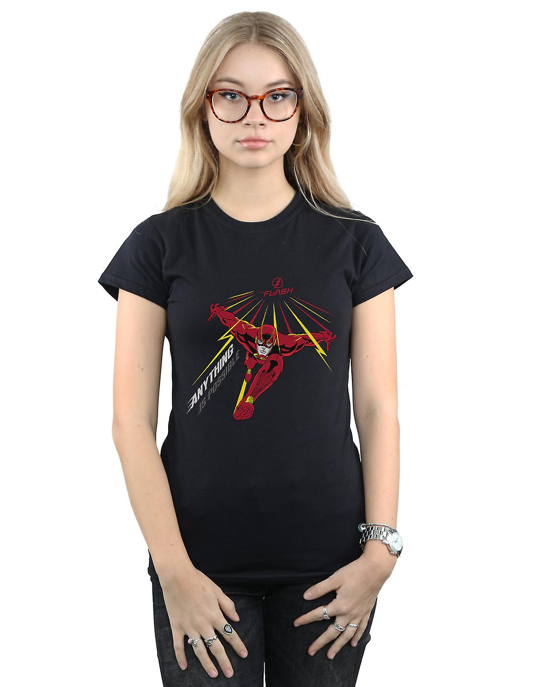DC Comics Women's The Flash Anything Is Possible T-Shirt