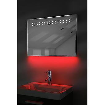 Ambient Shaver LED fürdőszoba tükör demister pad és érzékelő K12s