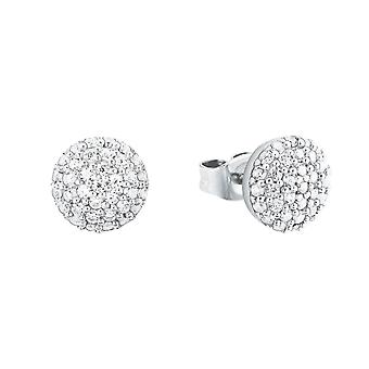 s.Oliver jewel ladies earrings silver cubic zirconia 2024216