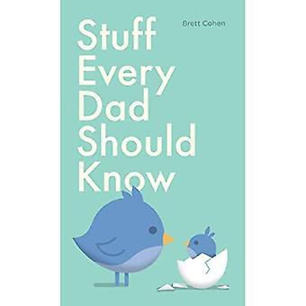 Grejer varje pappa bör veta