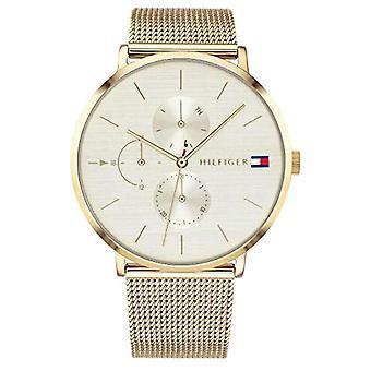 Tommy Hilfiger men's Multi-dial quartz chronograph 1781943 gold plated Woman