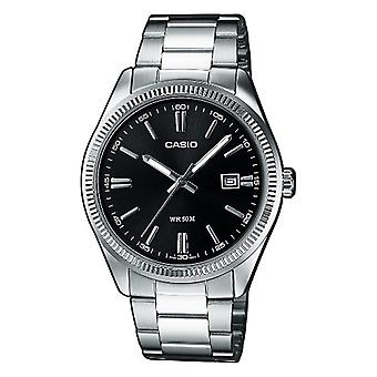 Casio men's analog quartz watch with stainless steel band MTP-1302D-1A1VEF
