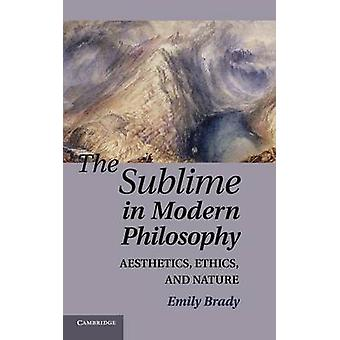 Sublime in Modern Philosophy par Emily Brady