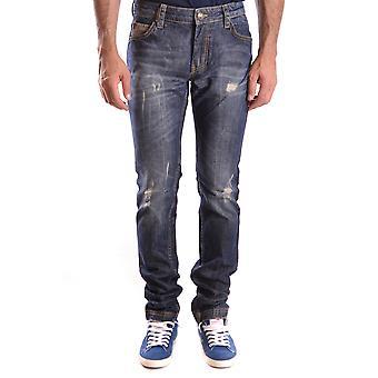 Frankie Morello Ezbc167011 Men's Blue Denim Jeans