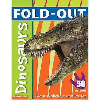 Fold-Out Dinosaurs Sticker Book by Dominic Zwemmer - 9781907604454 Bo
