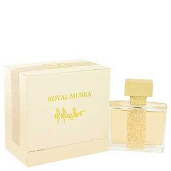 Royal Muska By M. Micallef Eau De Parfum Spray (unisex) 3.3 Oz (women) V728-512346