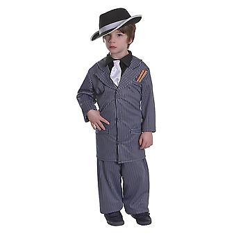 Costume di Bristol Novelty Childrens/Boys Gangster Boy
