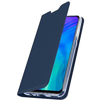 Slim flip wallet case, Business series for Honor 20 Lite - Dark blue