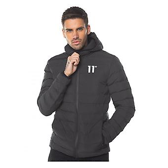11 Degrees Space Puffa Jacket Black