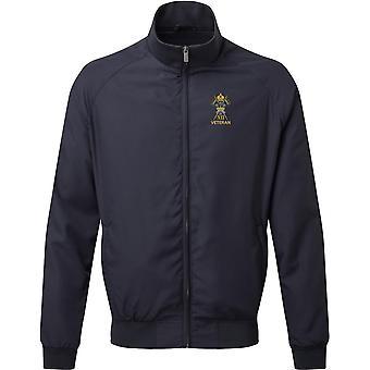 12th Royal Lancers Veteran - Licensed British Army Embroidered Harrington Jacket