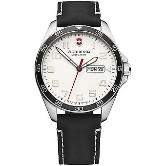 Victorinox field watch watch for Men Analog Quartz with Cowhide Bracelet V241847