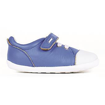 Bobux Step Up Boys Scribble Shoes Electric Blue