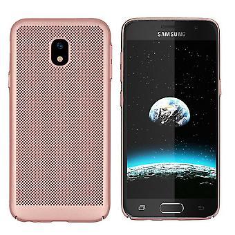 Samsung J7 2017 Case Ros' Gold - Otwory siatkowe
