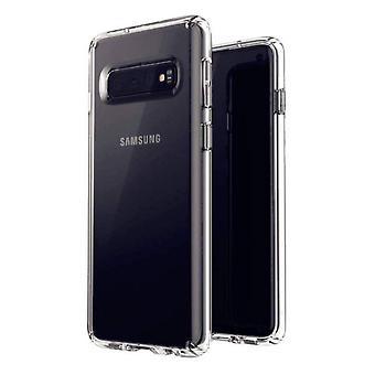 Case Coolskin3T til Samsung S10 plus transparant hvid