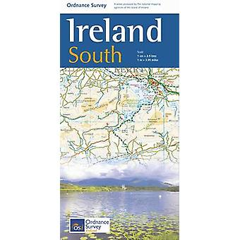 The Ireland Holiday Map - South (4th Revised edition) by Ordnance Sur