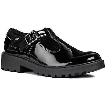 Geox Kids J Casey G. E Buckle Shoe