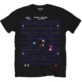 Mannen Pac-man spel scherm T-shirt