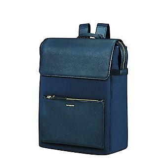 SAMSONITE RECTANGULAR BACKPACK14.1' (DARK BLUE) -ZALIA� Zaino Casual - 45 cm - Blu