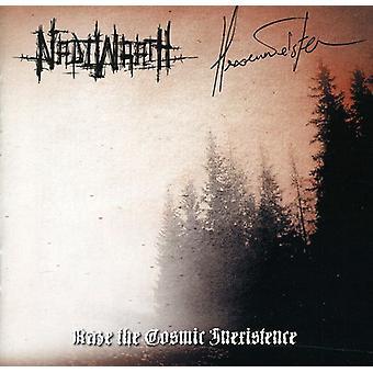 Nadiwrath/Hexenmeister - Raze the Cosmic Inexistence [CD] USA import