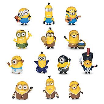 2-Pack Minions Figures With Bendable Hands 5-8cm Retail Package