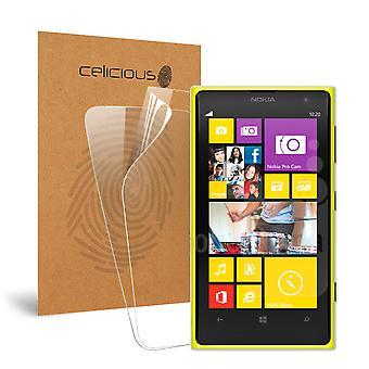 Celicious viva Invisible Protector de pantalla brillante HD película Compatible con el Nokia Lumia 1020 [Pack 2]