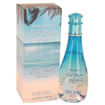 Cool Water Exotic Summer Eau De Toilette Spray (Limited Edition) By Davidoff   533637 100 ml