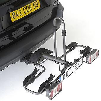 Mottez - Fietsendrager trekhaak platform opvouwbaar (2 fietsen)