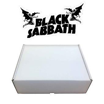 Virallinen Black Sabbath lahja setti T paita muki verkko paketti Mens uusi boxed