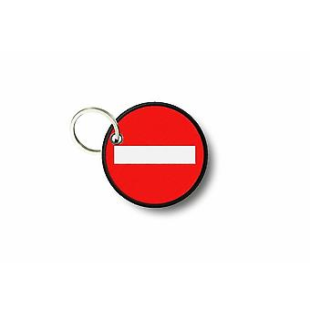 Cle Cles Key Brode Patch Ecusson Meaning Forbidden Danger
