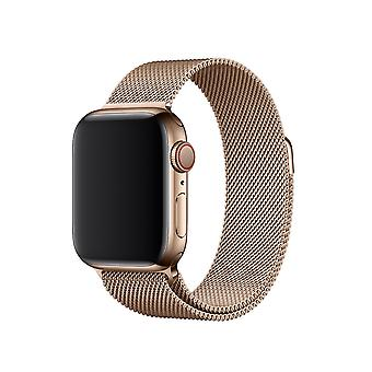 Strap in acciaio inossidabile Milanese 38/40 MM per Apple Watch Gold