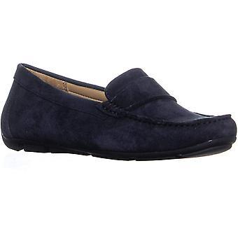 Naturalizer Womens Brynn mocka fyrkant tå loafers