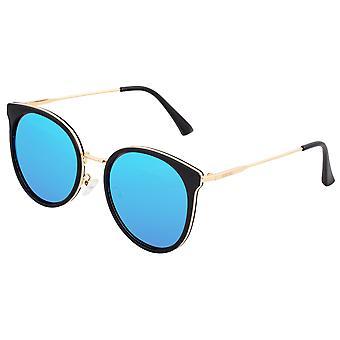 Bertha Brielle Polarized Sunglasses - Black/Blue