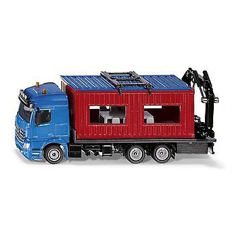 Siku Super LKW Truck & Construction Container  1:50  3556