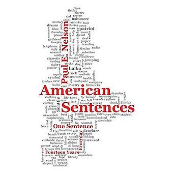 American Sentences One Sentence Every Day Fourteen Years by Nelson & Paul