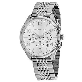 Michael Kors Men's Merrick Silver Dial Watch - MK8637