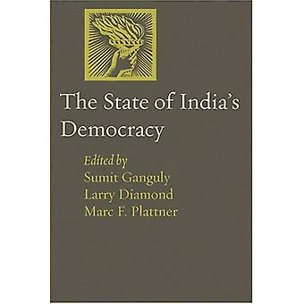 Democrazia dello stato dell'India (giornale della democrazia libro)