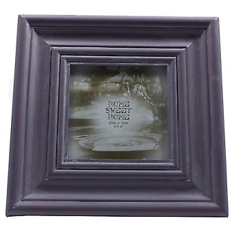 Lesser & Pavey Home Sweet Home Photo Frame 4x4 (10x 10cm) - Amethyst
