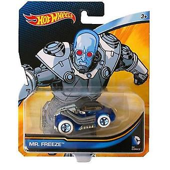 Hot Wheels DC Cars Mr Freeze Toy
