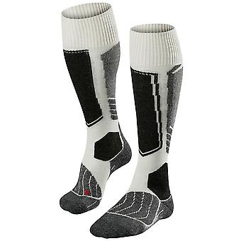 Falke Skiing 1 Knie hohe Socken - Off White