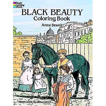 Libro di colorazione black Beauty di Anna Sewell & Illustrated di John Green