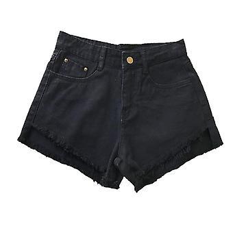 Shorts de hanche décontracté en denim