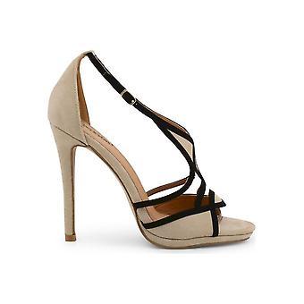 Arnaldo Toscani - Shoes - Sandal - 1218013_BEIGE-NERO - Women - tan,black - EU 38
