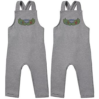 Space Armour Twin Boys Baby Twins Dungarees, Baby Twins Clothing, Baby Twins Gift